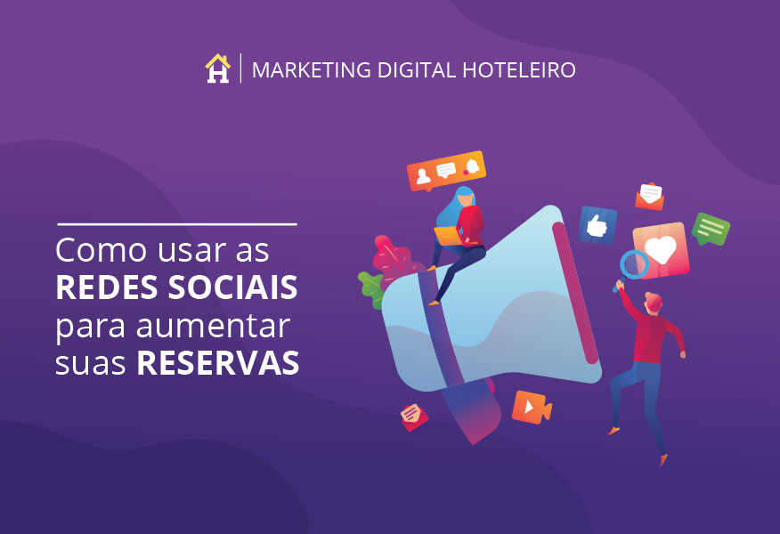 Curso de Marketing Hoteleiro Hospedin: Como usar as redes sociais para aumentar as suas reservas