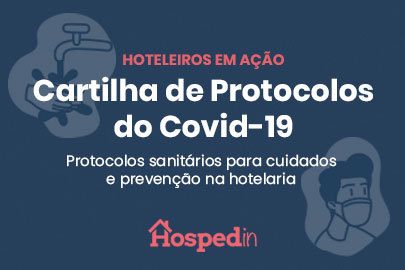 Cartilhas de protocolos do Covid-19 | Hospedin